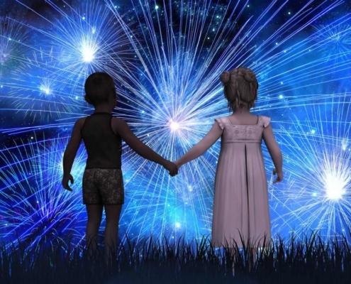 Silvesterparty mit Kindern - Tipps für das Silvesteressen & Spielideen