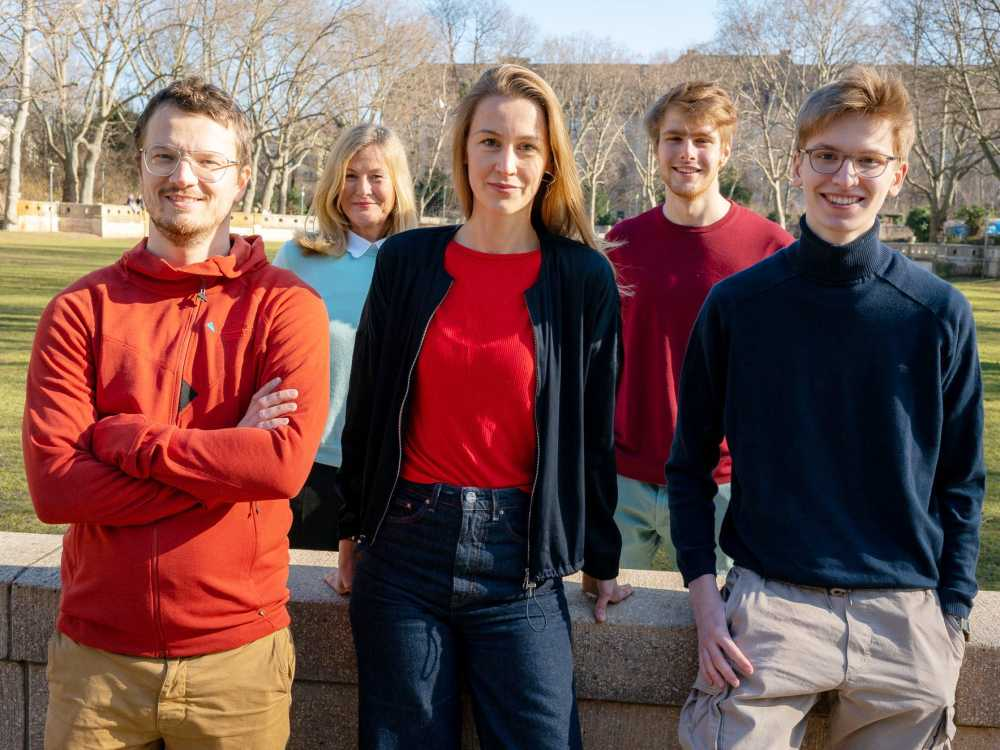 Das junge Gründerteam von krisenchat.de